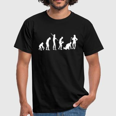 Evolution game over - Männer T-Shirt