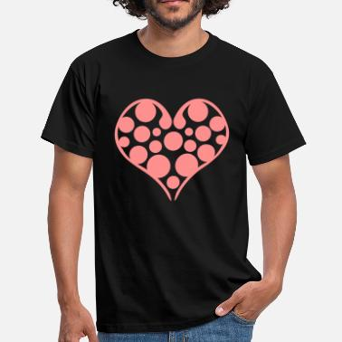 Valentines Day heart valentines day - Herre-T-shirt