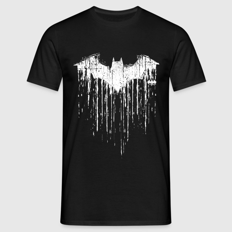 Batman Logo Flex Teenager Langarmshirt - T-shirt herr