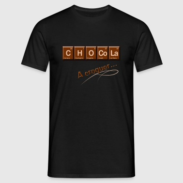Chocolat - T-shirt Homme