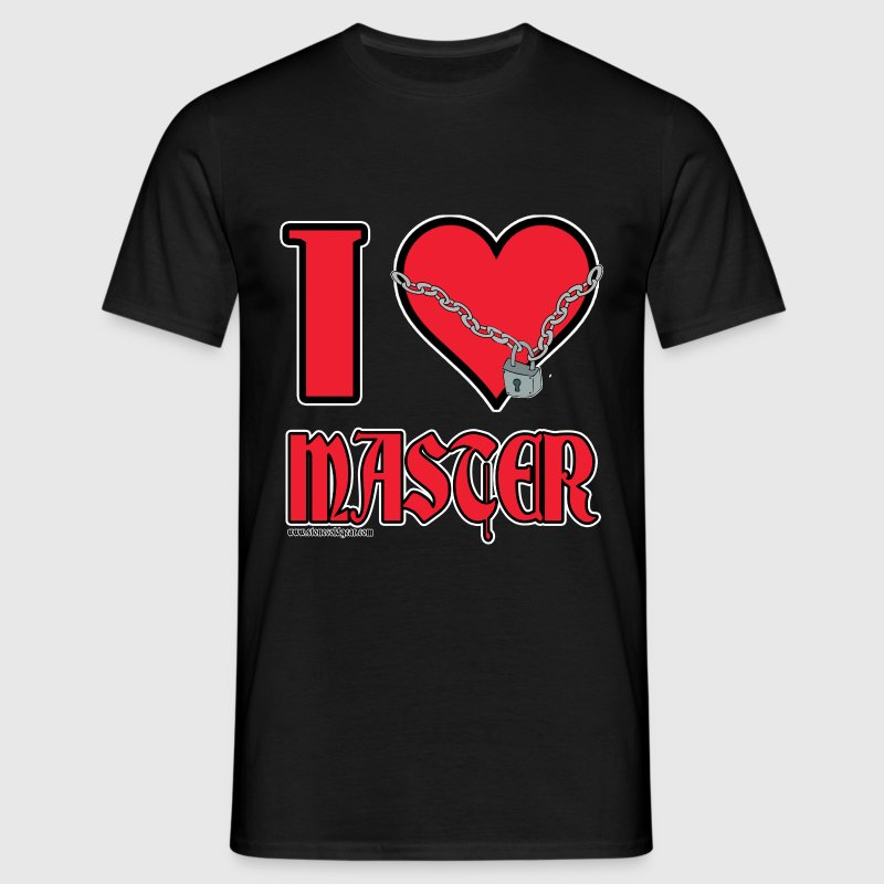 I Love Master - Men's T-Shirt