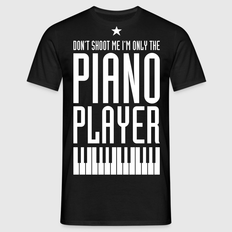 Piano Player - Männer T-Shirt