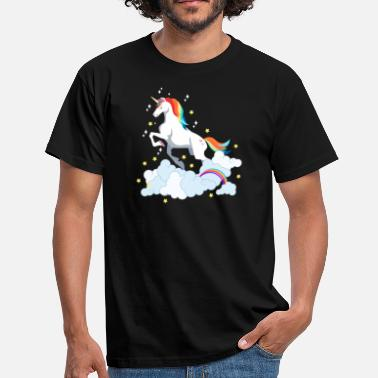 Unicorn Barn Vakker Unicorn Unicorn - Unicorn Lover barn - T-skjorte for menn