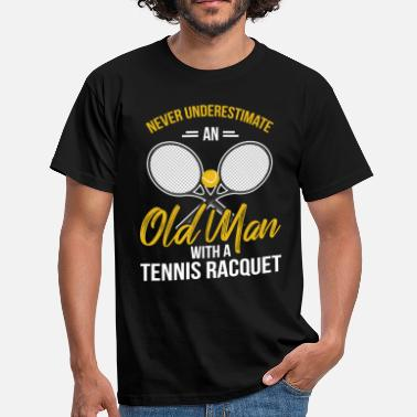 Tennis Racket tennis - Men's T-Shirt