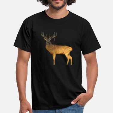 Gene Hunt A proud stag with magnificent antlers - Men's T-Shirt