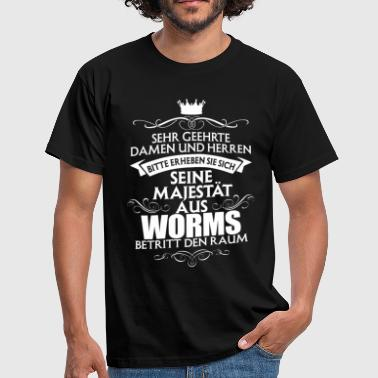 WORMS - Majestät  - Männer T-Shirt
