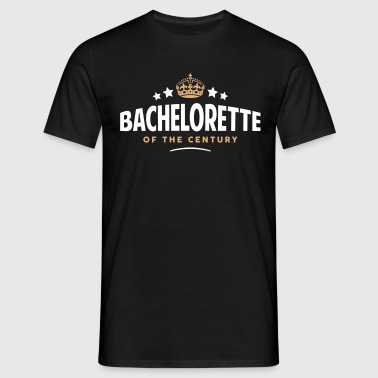 bachelorette of the century funny crown  - Men's T-Shirt