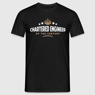 chartered engineer of the century funny  - Men's T-Shirt