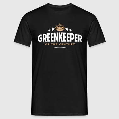 greenkeeper of the century funny crown s - Men's T-Shirt