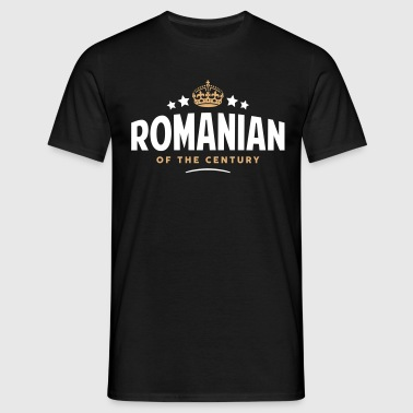 romanian of the century funny crown star - Men's T-Shirt
