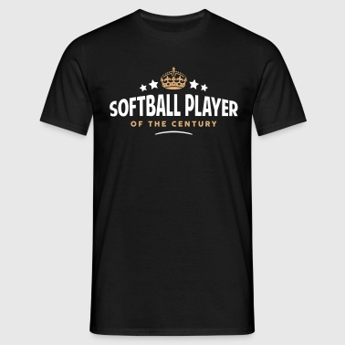 softball player of the century funny  - Men's T-Shirt