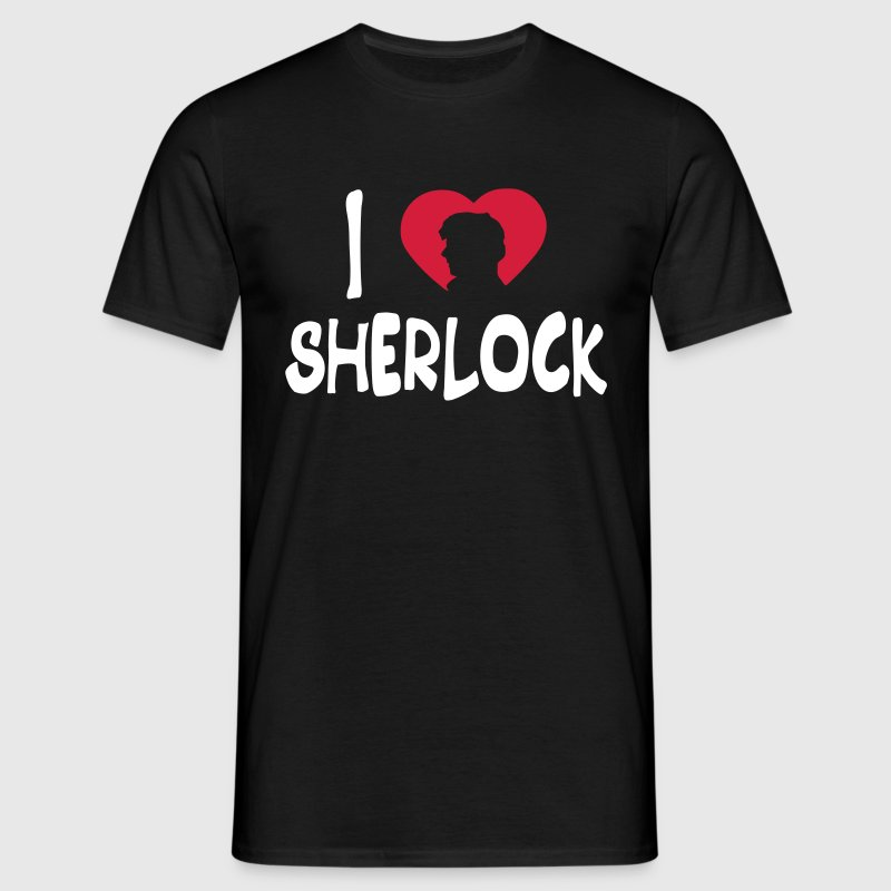 i love sherlock - Men's T-Shirt