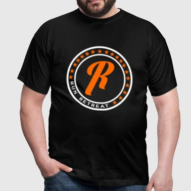 Run Retreat (Classic Look) T-Shirt - Men's T-Shirt