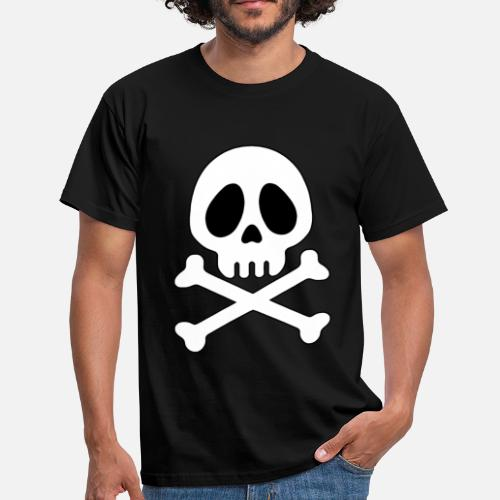 Tete De Mort Pirate Ani By Cosmosis Spreadshirt