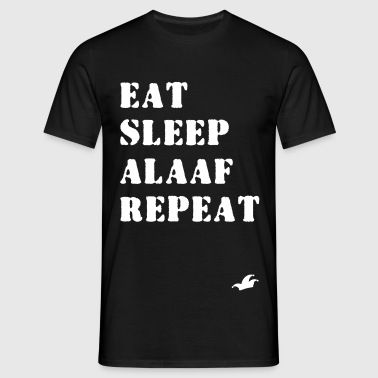 Eat Sleep Alaaf Repeat - Köln Kölle Karneval Shirt - Männer T-Shirt