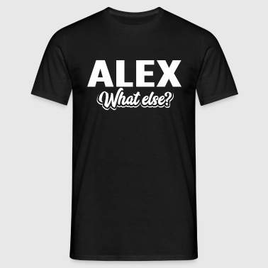 ALEX - we - Männer T-Shirt