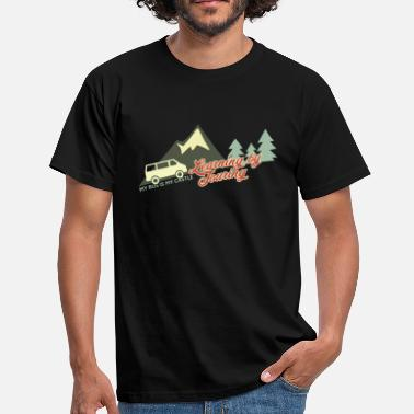 Bus Learning by Touring - Männer T-Shirt