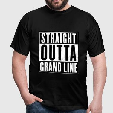 Straight outta Grand line - T-shirt Homme