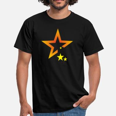 Starry Star starry sky outer space sky - Men's T-Shirt