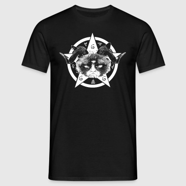 Grumpy Occult Cat - T-shirt Homme
