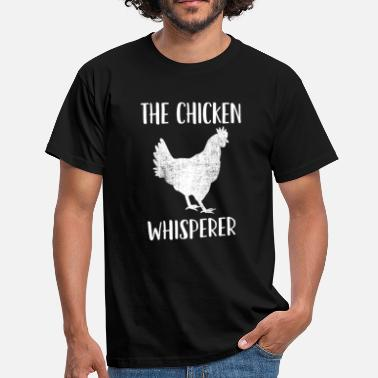 d753d4d8 Raising Chickens Poultry Farmer: Raising Chickens - The Chicken -  Men's. Men's T-Shirt