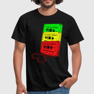 Audio raggamuffin old school reggae - T-shirt Homme