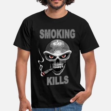 Fums smoking kills - fumer tue - Männer T-Shirt