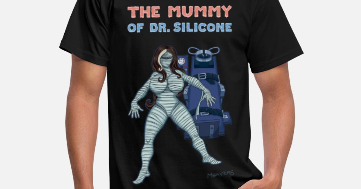 1d00a8ce0 The Mummy of Silicone. Men's T-Shirt | Spreadshirt