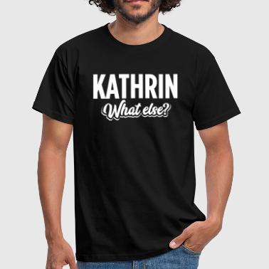 KATHRIN - we - Männer T-Shirt