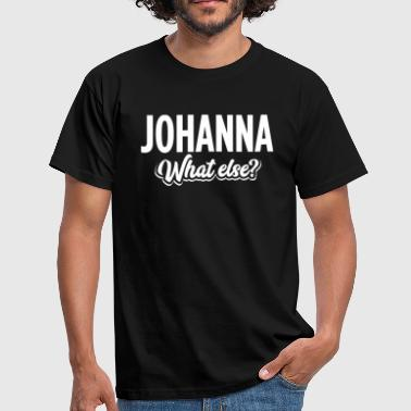 JOHANNA - we  - Männer T-Shirt