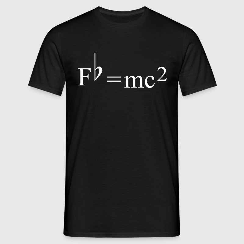 Fb=mc2 Theory of Relativity for Musicians - Camiseta hombre