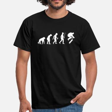 Skate Evolution Skateboarder Evolution - T-shirt Homme