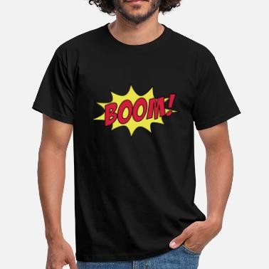 Cartoon Boom BOOM! - Men's T-Shirt
