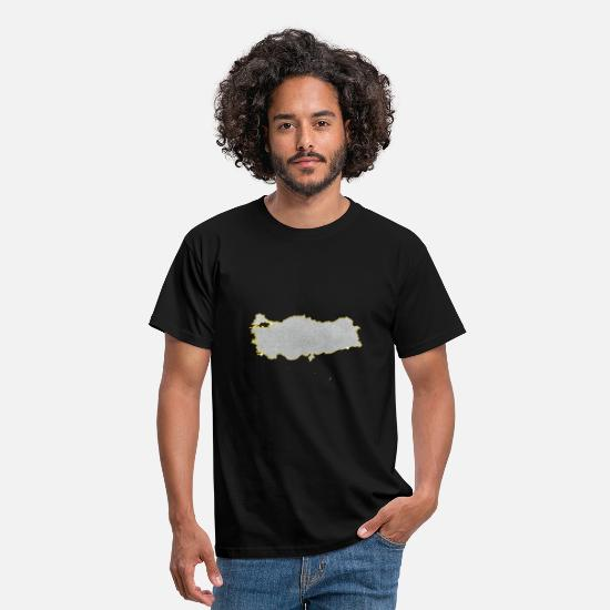 Jewelry T-Shirts - Turkey Jewelry Chain Pendant Bling Bling Poster - Men's T-Shirt black