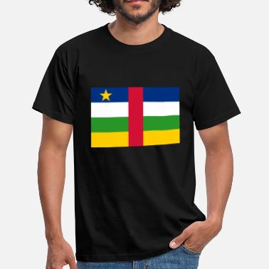 Central African Republic The Central African Republic flag - Men's T-Shirt