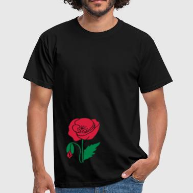 poppy - Men's T-Shirt