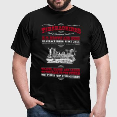 Timemachines (f. dunkle Produkte) - Herre-T-shirt