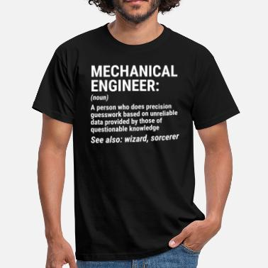 Definition Funny Mechanical Engineer Definition T-shirt - Men's T-Shirt