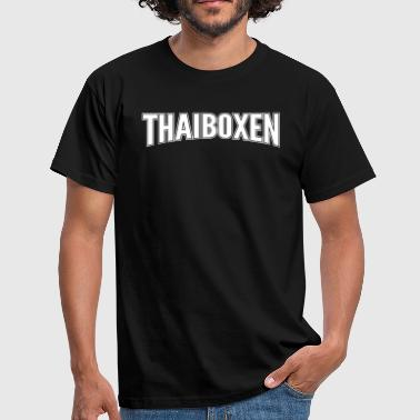 Thai boxing - Men's T-Shirt