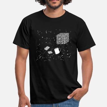 Futile Borg tea and biscuits - Men's T-Shirt