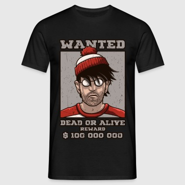 Wanted  Waldo - T-shirt Homme