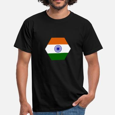 Tricolour india flag - Men's T-Shirt