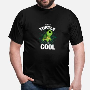 Wonderful Cool turtle gift idea - Men's T-Shirt