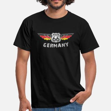 Route 66 Route 66 Germany Clubshirt - Männer T-Shirt