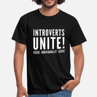 Forene Introverts forene - Herre-T-shirt