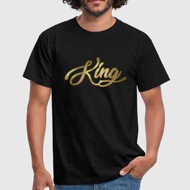 Diamonds King with Swarovski stones - Men's T-Shirt
