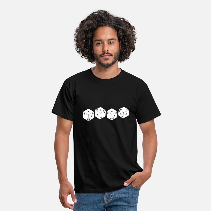 Dice T-Shirts - 1312 ACAB - Men's T-Shirt black