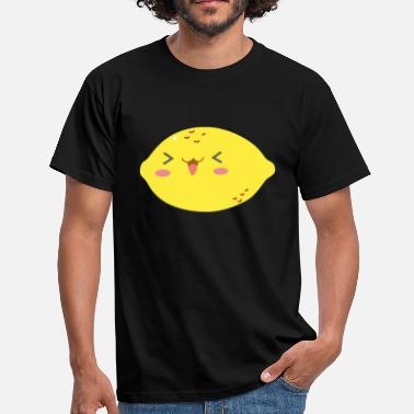 Lemon On A Pear sweet lemon - Sweet lemon with a smile - Men's T-Shirt