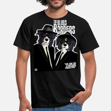 The Blues Brothers Der Blues Borders - Männer T-Shirt