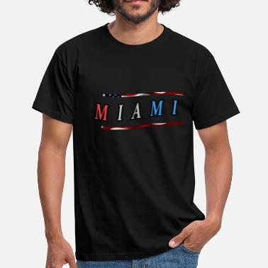 Eastcoast Miami - T-skjorte for menn